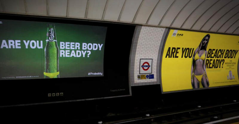 12 Carlsberg Respond To Protein World Ads In Classic Carlsberg Fashion