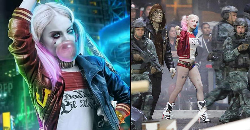 144 More Photos Of Margot Robbie As Harley Quinn On Set Of Suicide Squad