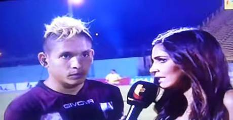184 Angry Football Fan Flying Kicks Player During Live TV Interview