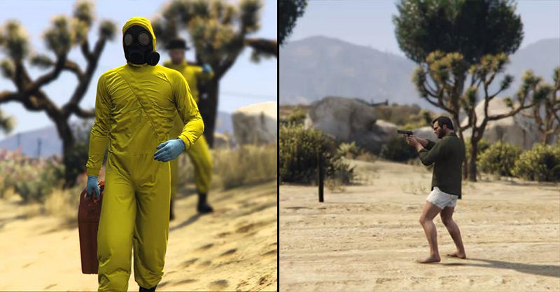 195 Breaking Bad Meets GTA V In This Amazing Remake