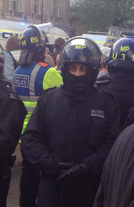 Riots Erupt In London Following Re Election Of The Conservatives 214