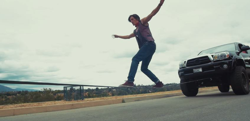 222 These Parkour Stunts On Moving Cars Are Crazy