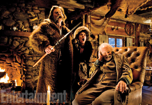 35 First Look Photos Of Tarantinos New Film The Hateful Eight Have Been Released