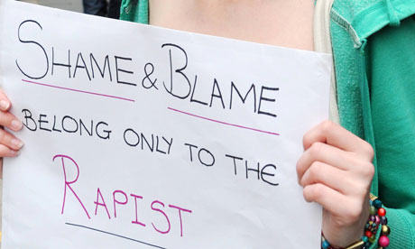 Anti rape demonstration p 008 Police To Pay Rape Victim £20,000 After Initially Threatening Her With Charges