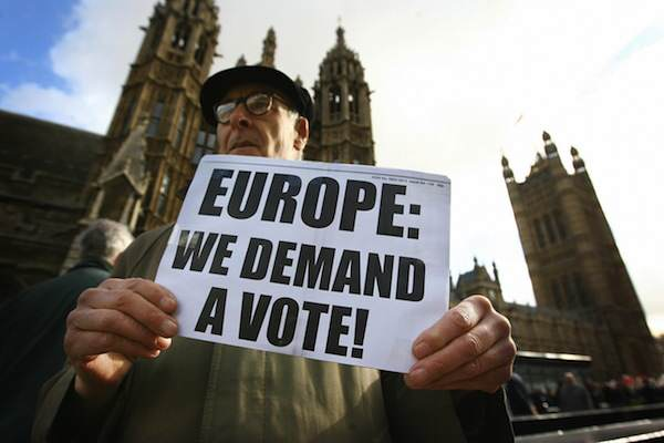 EU protest What People Can Expect From A Conservative Government In The Next Five Years