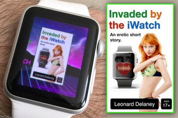 Guy Earns £650 A Month Writing Hardcore Porn About The Apple Watch And Tetris Funny erotic novels 02