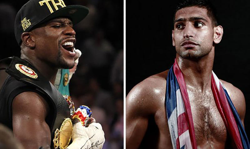 Mayweather Kahn Amir Khan Open To Fight Floyd Mayweather In September