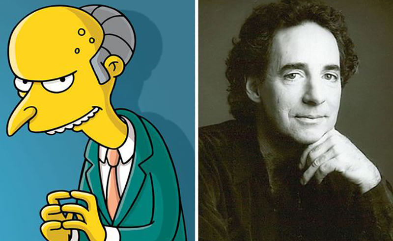 Voice Of Mr Burns And Ned Flanders Fired From The Simpsons %name