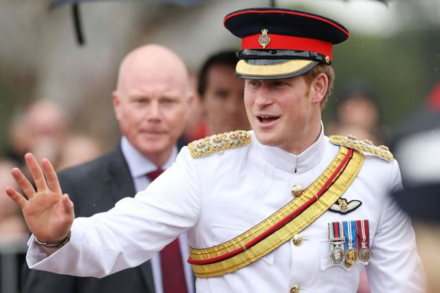 Prince Harry 640x426 Prince Harry Really Enjoyed His Time In The Army