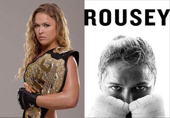 It Turns Out UFC Champ Ronda Rousey Had A Pretty Dark Childhood Rousey book WEB