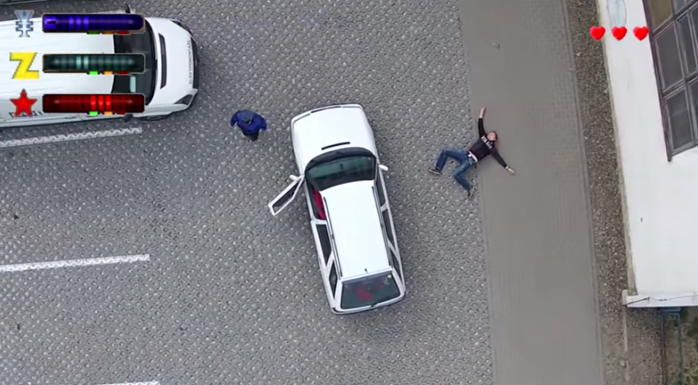 Screen shot 2015 05 04 at 14.52.13 Some Genius Recreated Grand Theft Auto 2 In Real Life