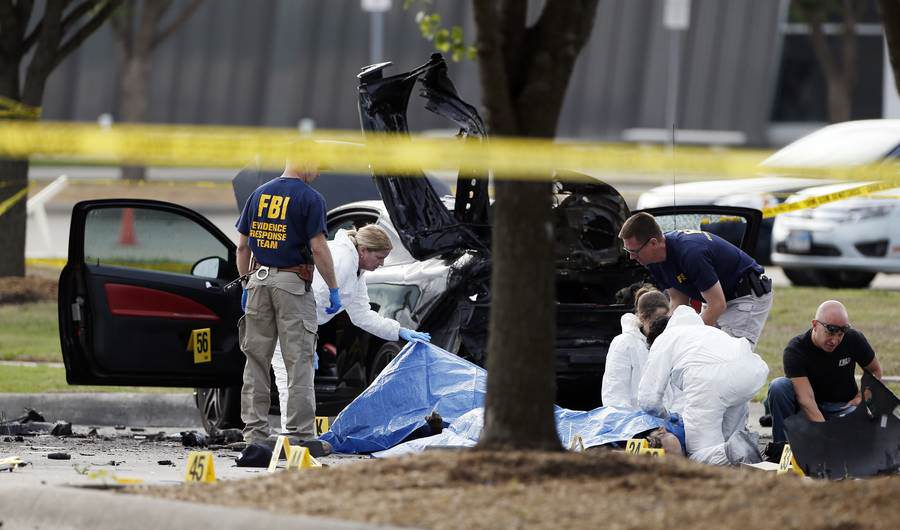 attack ISIS Claim Responsibility For Texas Shooting