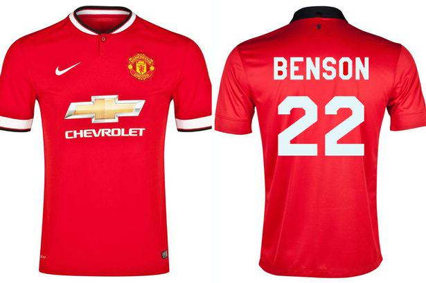 benson Guy Goes On The Rob Wearing Manchester United Shirt, With His Name On Back