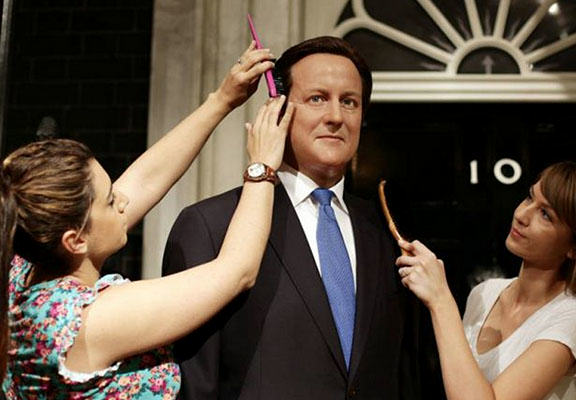 davidcameronWEBTHUMBNEW David Cameron Waxwork Revamped With Grey Hair And Wrinkles