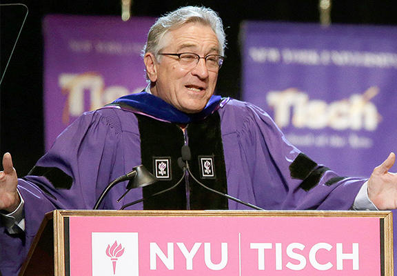 de niro WEB1 Robert De Niro Gives Amazing Speech To Acting Graduates, Tells Them Youre F*cked!