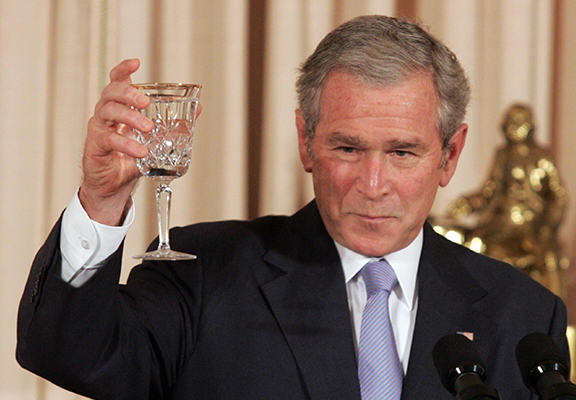 george w bush WEB New Poll Ranks George W Bush As More Hated Than Stalin And Genghis Khan