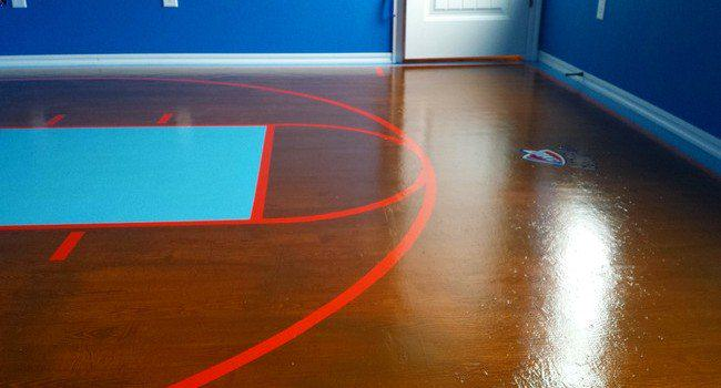 This Dad Created A Basketball Bedroom For Daughter, Its Epic girl