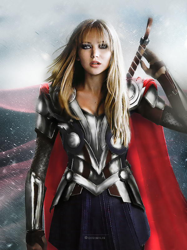 marvel5 One Artist Has Switched Up The Avengers To Female Actresses, Its Amazing
