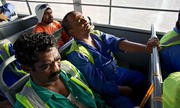 migrant qatar 012 The World Cup That Could Cost Thousands Of Lives And Fifas Cover Up