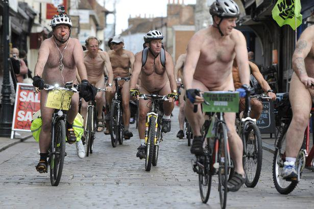 Nude Cyclist Removed From World Naked Bike Ride After Becoming Aroused nude cyclists 2