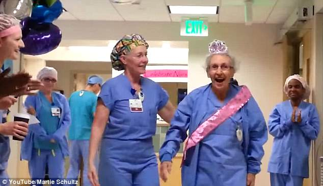nurse1 Americas Oldest Nurse Celebrates Milestone 90th Birthday