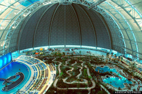 o TROPICAL ISLAND GERMANY 570 This Massive Aircraft Hangar In Germany Is Actually A Tropical Island Paradise
