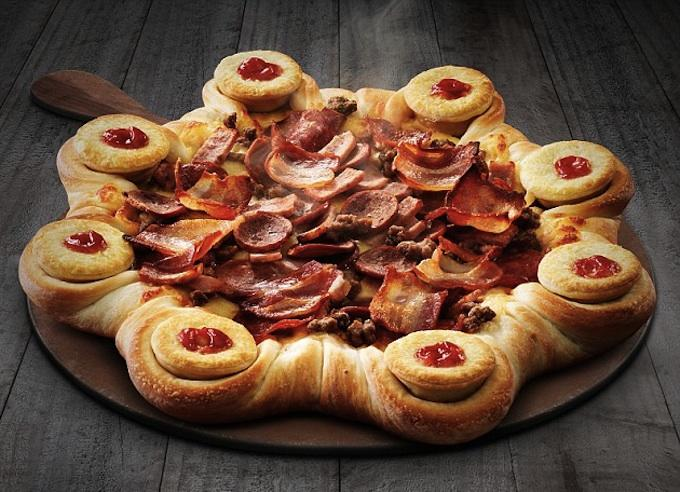 pizza hut Pizza Hut Are Making A Pizza With Meat Pies In The Crust, Im Really Hungry Now