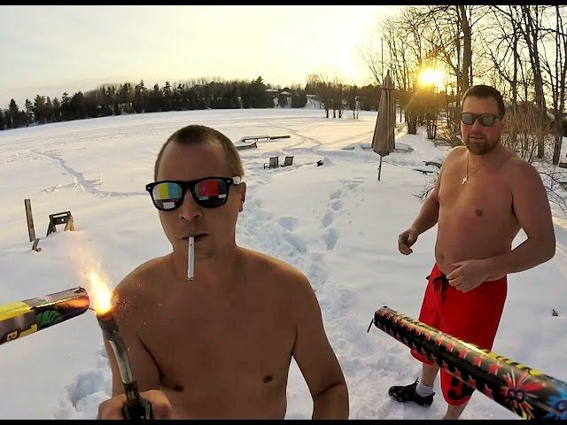 roman Two Dudes Redefine Crazy With Roman Candle Drone Attack Video