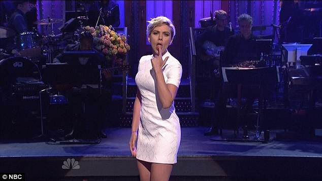 scarlett Scarlett Johansson Sings Very Sexual Lullaby On SNL, You Need To See This
