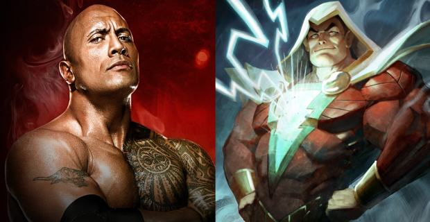 shazam The Rock Talks About Role As The Anti Hero In Shazam And WWE Return