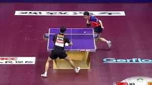 table tennis I Guarantee You Have Never Seen Table Tennis Played So Good