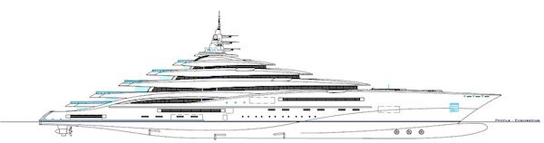 yacht Worlds Largest Yacht Is Length Of Two Football Fields, Costs $800 Million