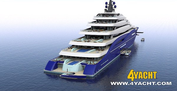 yacht1 Worlds Largest Yacht Is Length Of Two Football Fields, Costs $800 Million