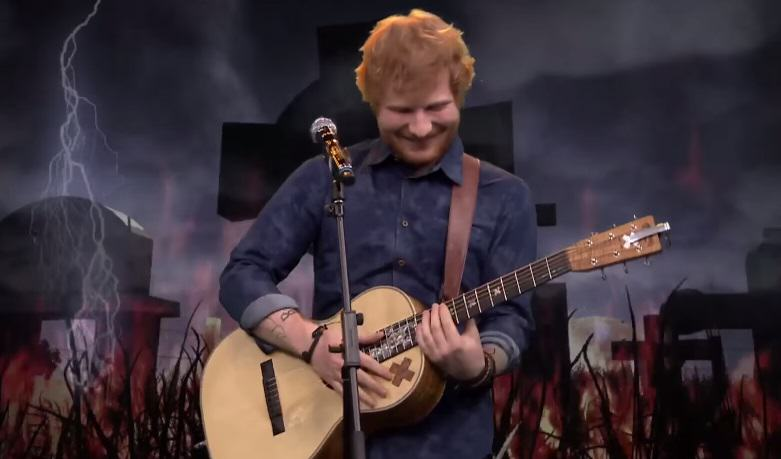 113 Ed Sheeran  Makes Pleasant Acoustic Covers Of Heavy Metal And Rap Songs