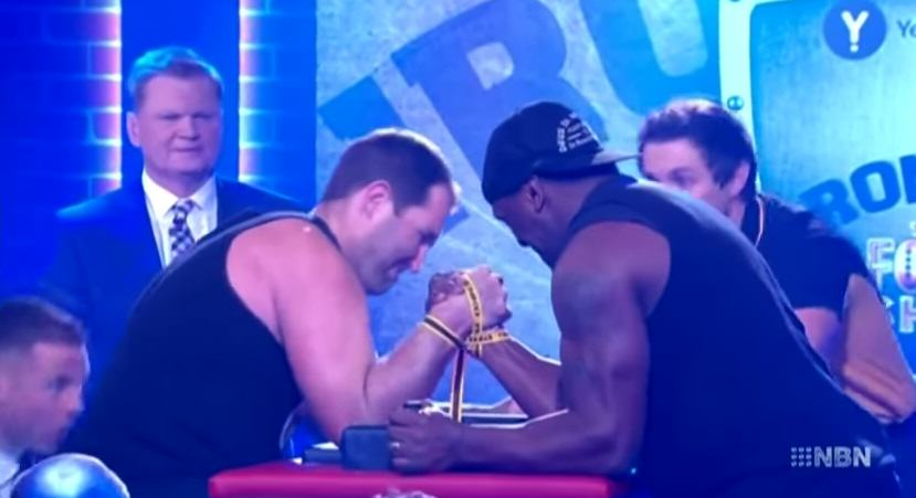 144 This Video Of An Arm Wrestlers Arm Breaking On Live TV Is Horrific