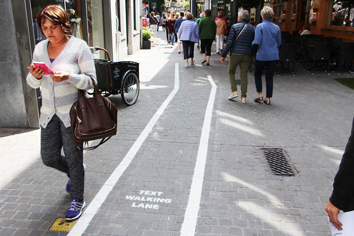 187 Are You Glued To Your Phone Enough To Walk In The Text Lane?