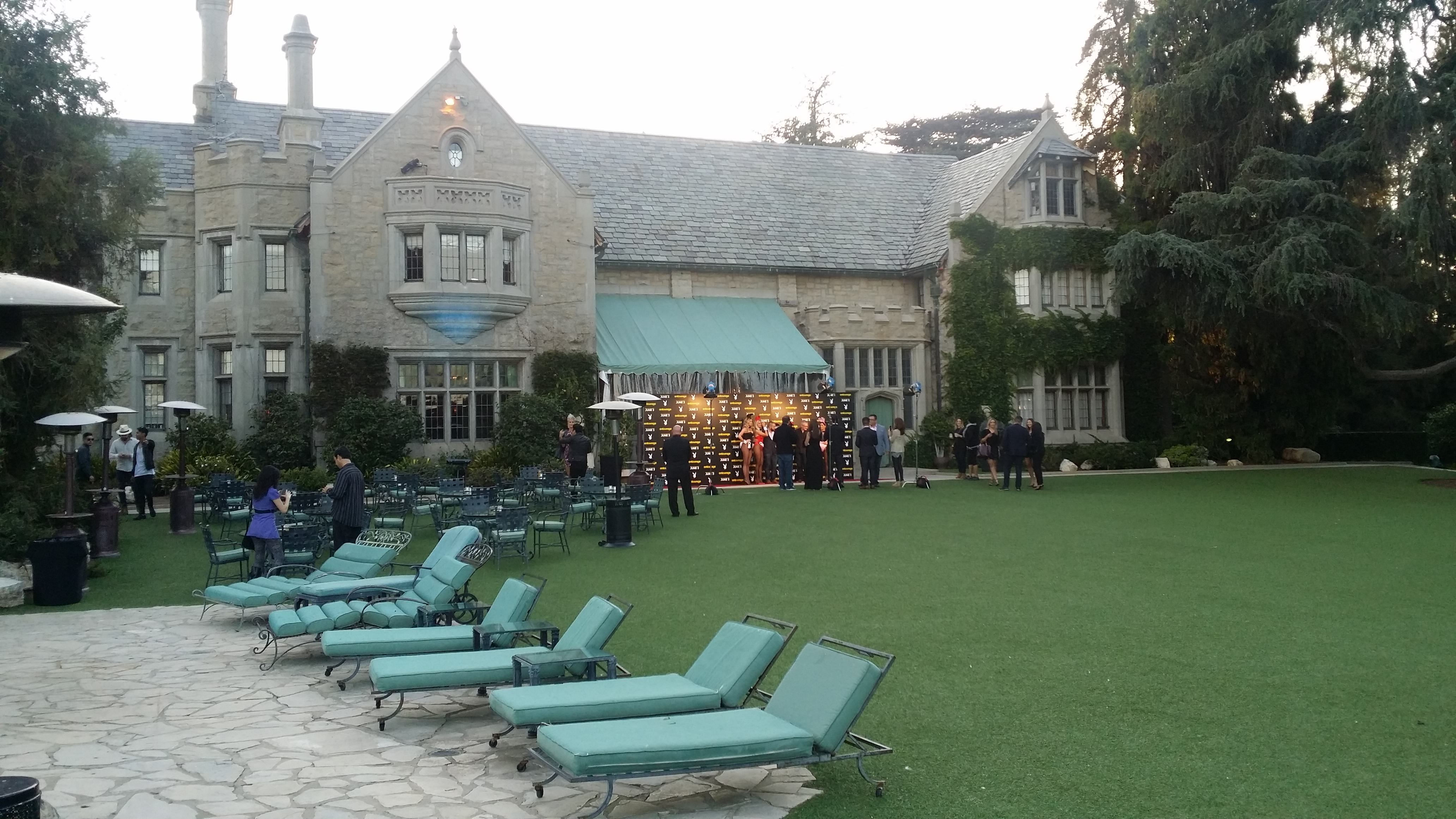 20150520 192733 We Were Invited To The Playboy Mansion To Watch Entourage And It Was Exactly What We Expected!