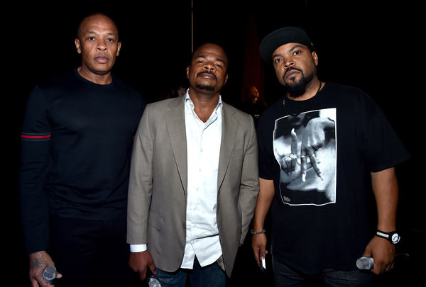 N.W.A To Perform In Concert For First Time In 26 Years Dr Dre Ice Cube CinemaCon 2015 Universal Pictures k5CKhg1puVMl