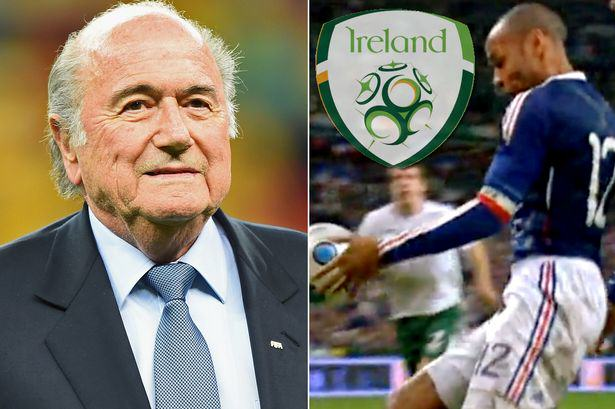Ireland payment main FIFA DID Pay The FAI After That Thierry Henry Handball