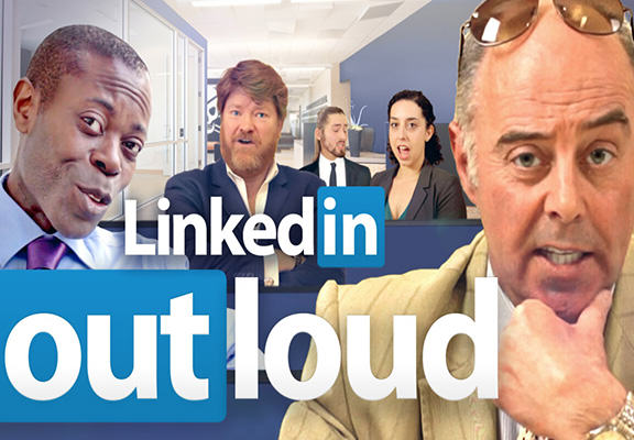 OUTLOUD WEB Actors Read Out Awful LinkedIn Profiles Which Make Apprentice Candidates Sound Humble