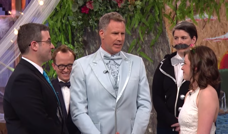 Screen Shot 2015 06 26 at 13.54.42 Will Ferrell Delivers Wedding Speech To Couple He Doesnt Know