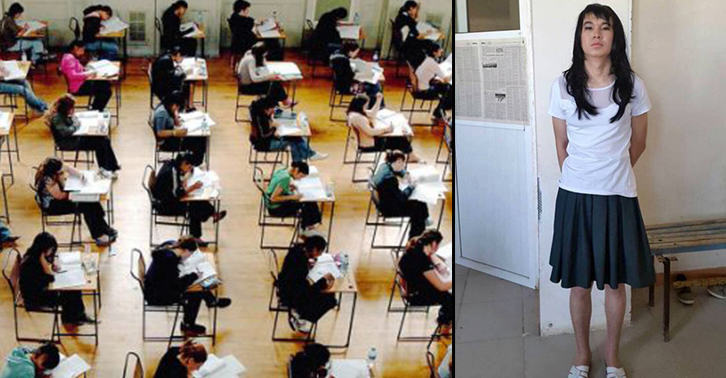 TN136 Man Fined £1,400 After Dressing Up As His Girlfriend To Sit Her Exam