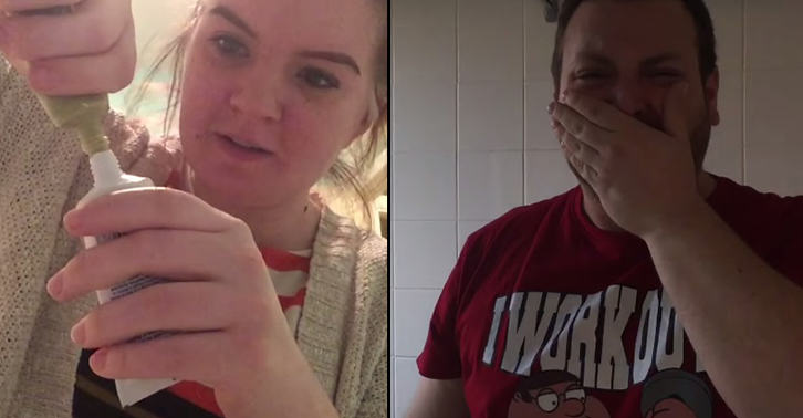 TN145 Girl Gets Revenge On Pranking Boyfriend By Putting Wasabi In His Toothpaste