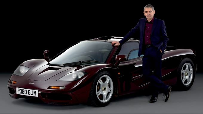 atkinson car 1 Rowan Atkinson Sells His McLaren Supercar For A £7.5 Million Profit