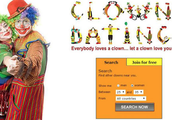 clown web A Dating Site For Clowns Is A Real Thing That Exists