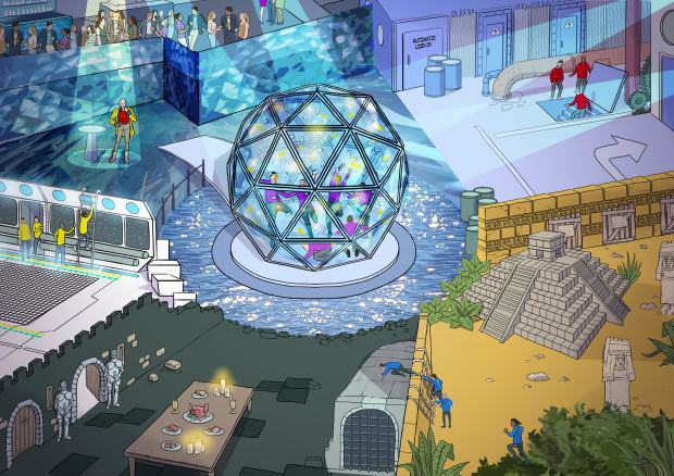 crystal maze 2 The Crystal Maze Is Returning With Host Richard O'Brien
