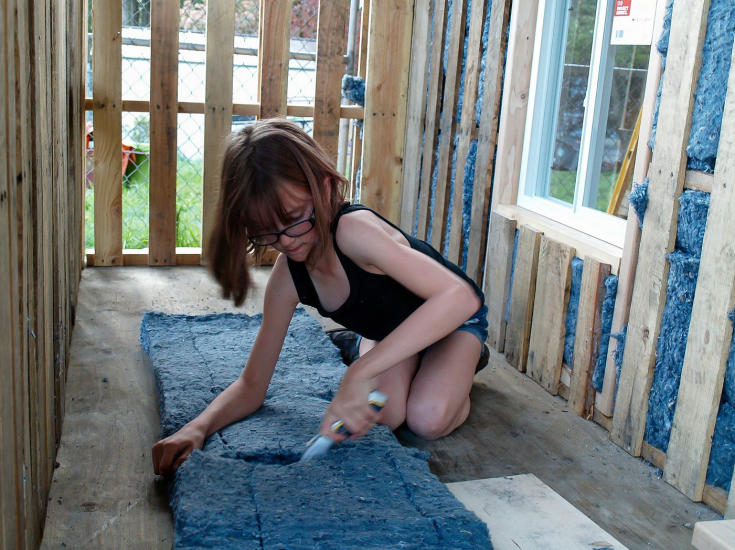 hailey homeless 2 Inspirational 9 Year Old Girl Is Building Shelters For The Homeless