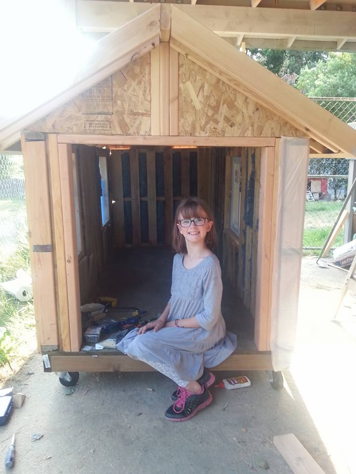 hailey homeless 4 Inspirational 9 Year Old Girl Is Building Shelters For The Homeless