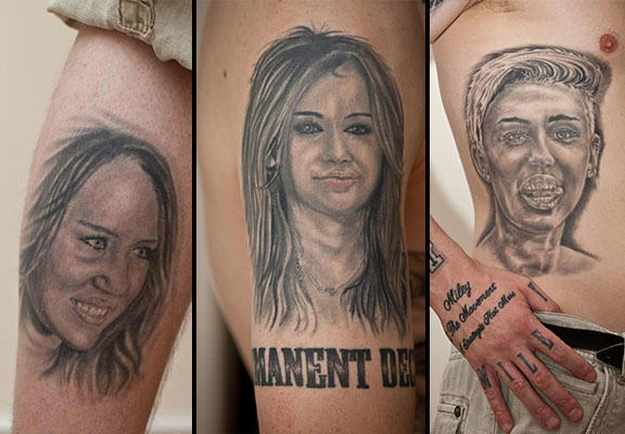 miley tattoos WEB 2 Man To Remove 29 Miley Cyrus Tattoos After Singer Calls Them Ugly