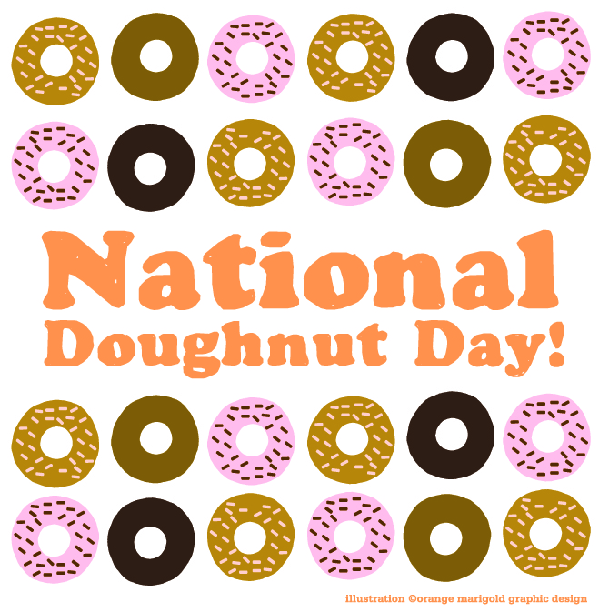 ndd Woman Celebrates National Doughnut Day, Nearly Chokes On Donut